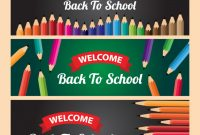 Back To School Welcome Banner Template | Premium Vector in Welcome Banner Template