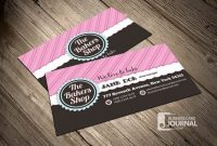 Bakery Business Cards Templates – Free Download At with regard to Cake Business Cards Templates Free