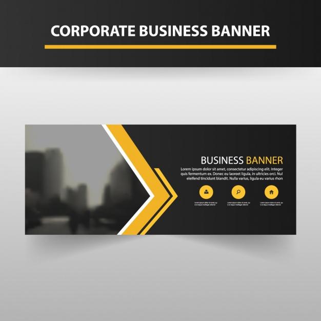 Banner Template Design | Free Vector Inside Free Website Banner Templates Download