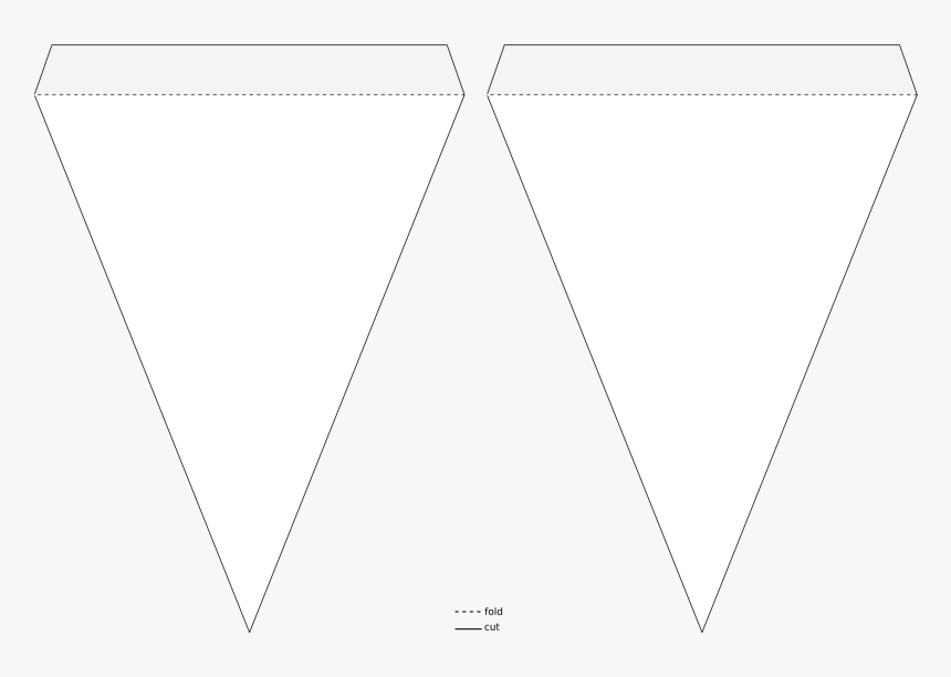 Banner Template Triangle, Hd Png Download – Kindpng In Free Triangle Banner Template