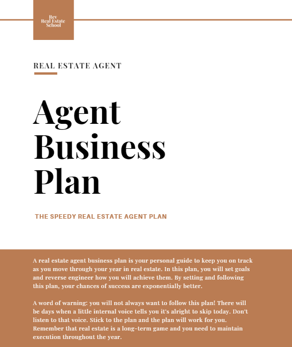 Best 10 Step Real Estate Agent Business Plan Template [Free regarding Free Real Estate Agent Business Plan Template