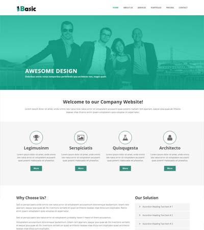 Best Corporate Business Website Templates Free Download 2020 For Basic Business Website Template