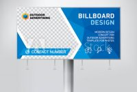 Billboard Design, Template Banner For Outdoor Advertising intended for Outdoor Banner Design Templates