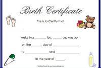 Birth Certificate Template 44 Free Word Pdf Psd Format for Editable Birth Certificate Template