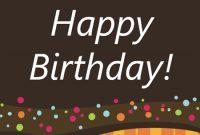 Birthday – Office for Microsoft Word Birthday Card Template
