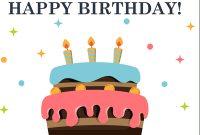 Birthday – Office inside Microsoft Word Birthday Card Template