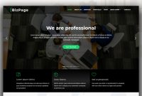 Bizpage – Responsive, Free, And Seamless Bootstrap 4 Business Template with Template For Business Website Free Download