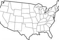 Blank Map Template – Clipart Best in United States Map Template Blank