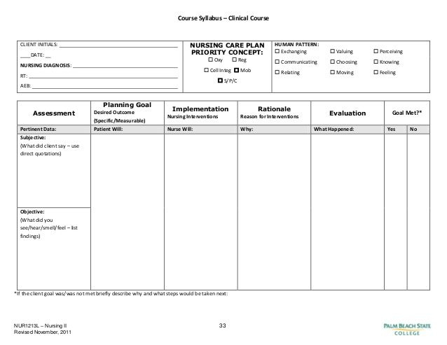 Blank Nursing Care Plan Templates - Google Search | Nursing within Nursing Care Plan Templates Blank