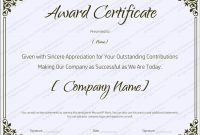 Blank Retirement Certificate Template – Editable And Printable with regard to Microsoft Word Award Certificate Template