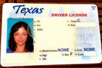 Blank State Id Template | Datanta | Drivers License with regard to Texas Id Card Template