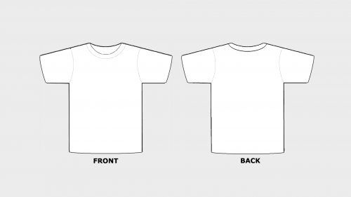 Blank Tshirt Template Printable In Hd | T Shirt Design regarding Printable Blank Tshirt Template