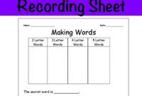 Blank Word Sort Template Worksheets & Teaching Resources | Tpt inside Words Their Way Blank Sort Template