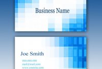 Blue Business Card Template | Free Psd File regarding Templates For Visiting Cards Free Downloads