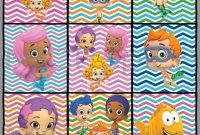 Boy/girl Bubble Guppies Editable Banner Bubble Guppies within Bubble Guppies Birthday Banner Template