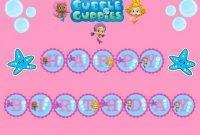 Bubble Guppies Happy Birthday Clip Art | Bubble Guppies regarding Bubble Guppies Birthday Banner Template