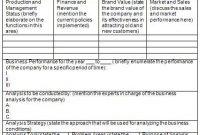 Business Analysis Plan Template   Sample Business Templates for Business Analyst Documents Templates