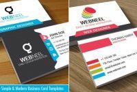Business Card Design | Webneel intended for Web Design Business Cards Templates