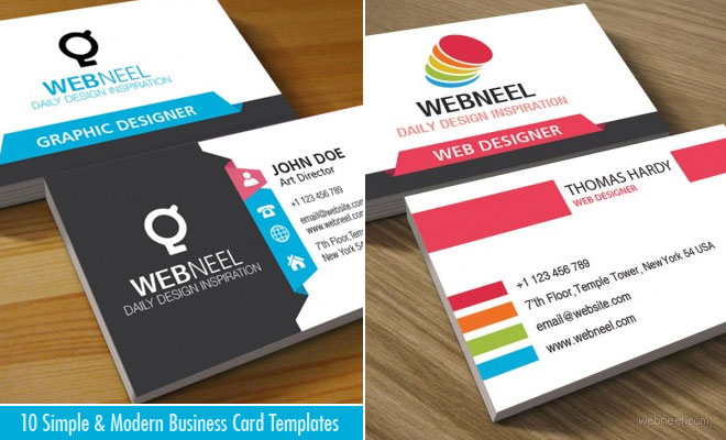 Business Card Design   Webneel intended for Web Design Business Cards Templates
