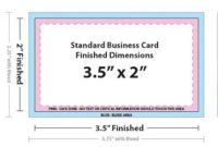 Business Card Size In Adobe Photoshop within Business Card Template Size Photoshop