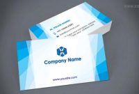 Business Card Template For Free Download | Business Card pertaining to Templates For Visiting Cards Free Downloads