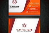 Business Card Template | Free Vector intended for Designer Visiting Cards Templates