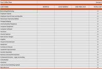 Business Financial Plan regarding Business Plan Balance Sheet Template
