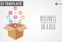 Business In A Box – Prezi Presentation Template     Creatoz with Business In A Box Templates