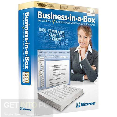 Business In A Box Templates Updated Free Download throughout Business In A Box Templates