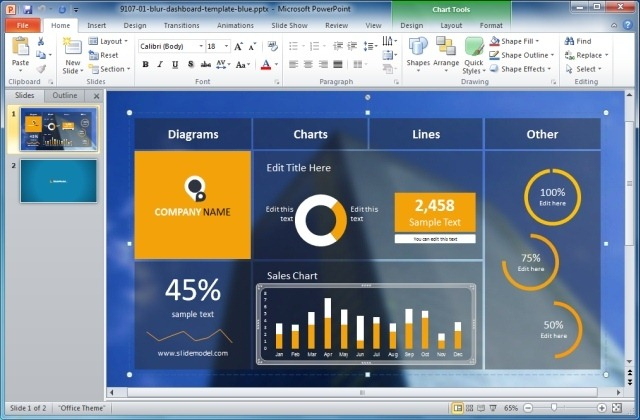Business Intelligence Powerpoint Templates in Business Intelligence Powerpoint Template