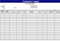 Business Ledgers – Hillaryrain.co for Business Ledger Template Excel Free
