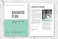 Business Plan Templates In Word For Free pertaining to Business Plan Cover Page Template