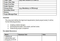 Business Requirement Specification Document Template – Cakeb with regard to Business Requirements Document Template Pdf