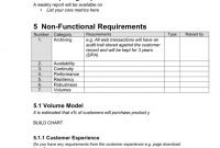 Business Requirements Document Template In Word And Pdf pertaining to Business Requirements Document Template Pdf