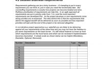 Business Requirements Document Template In Word And Pdf with Business Requirements Document Template Pdf