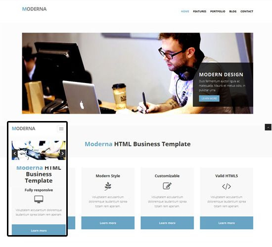 Business Responsive Templates | Free Website Maker, Business with regard to Website Templates For Small Business