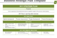 Business Strategic Planning Template For Organizations with Strategic Business Review Template