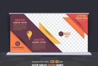 Business-Thema Outdoor-Banner-Design, Werbung Vektor Vorlage with regard to Outdoor Banner Design Templates