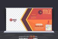 Business Theme Outdoor Banner Design, Advertising Vector with Outdoor Banner Design Templates