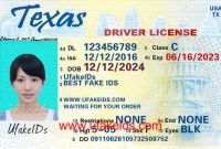 Buy Best Fake Ids | Make A Fake Id Online | Fake Id Maker inside Texas Id Card Template