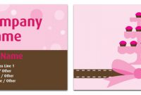 Cake Decorating Business Cards 2 Free Guides To Launch A within Cake Business Cards Templates Free