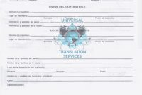 Calculate Your Certified And Or Notarized Translation with Marriage Certificate Translation Template