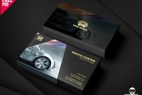 Car Business Card Psd Free Designs, Themes, Templates And within Automotive Business Card Templates