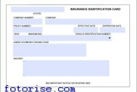 Car Insurance Card Template Download Fotorise Intended For with Fake Auto Insurance Card Template Download
