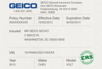 Car Insurance Cards Printable Car Insurance Cards Printable throughout Fake Auto Insurance Card Template Download