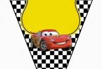 Cars Banner | Cars Birthday Party Disney, Cars Theme pertaining to Cars Birthday Banner Template