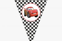 Cars Birthday Banner Printable, Hd Png Download – Kindpng with regard to Cars Birthday Banner Template