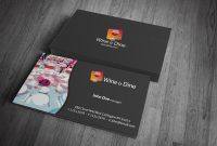 Catering Business Card Template » Free Download » Cr00002 with Restaurant Business Cards Templates Free