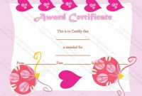 Certificate Of Appreciation (Love Themed) – Gct intended for Love Certificate Templates