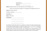 Certificate Of Conformance Template Free (1 within Certificate Of Conformity Template